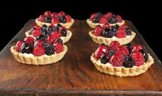 Fruit Tarts..have always wanted to make them.