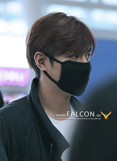 Lee Min Ho at Incheon Airport on June 14, 2015, cr. Falcon.