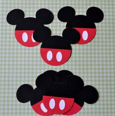 Mickey Mouse decorations