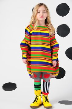 bodebo stripe emmi dress