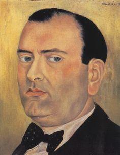 Retrato de Alberto Misrachi (1937)  - Frida Kahlo, C0192. Colección de Ana Misrachi, Ciudad de México, México.
