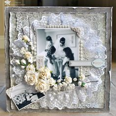 Butterfly Kisses: 12x12 Wedding Scrapbook Layout: Another I Am Roses Challenge!
