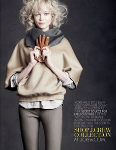 J.Crew Fall/ Winter 2010 Advertising Campaign