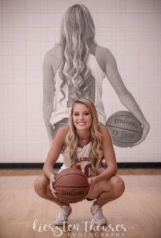 Senior pictures - Basketball senior pictures - Kansas Photographer - Kiersten Theurer Photography