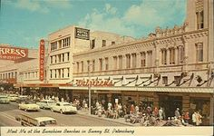 sunshine city ~ st petersburg ~ florida, central ave