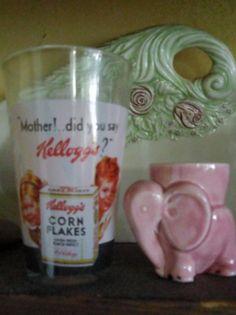 Pink breakfast vintage eggcup