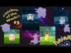 Pokemon Go: Catches of the Week!! WILD BLASTOISE, CHANSEY, NIDOQUEEN, VI...