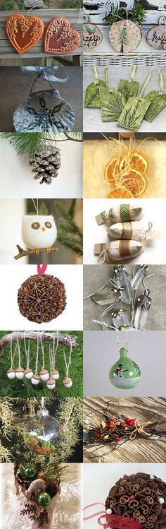 Natural Christmas  by Jennifer Flaten on Etsy--Pinned with TreasuryPin.com