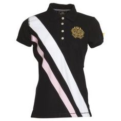 HV Polo polo woman Charly - It's practically named after me! Sport Shirt Design, Polo Design, Equestrian Chic, Equestrian Outfits, Hv Polo, Rodeo, Camisa Polo, Horse Fashion, Urban Chic