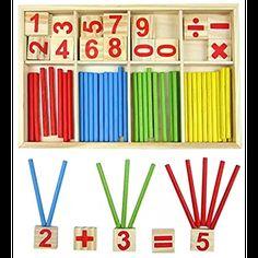 Boîte de Tri Montessori Jeux éducatif en bois 73 pièces