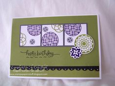 Happy Birthday... by Miss Vicky - Cards and Paper Crafts at Splitcoaststampers