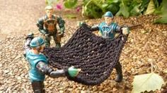 DIY Knitting DIY Yarn DIY  Crochet Pattern: Toy Army Corps Net