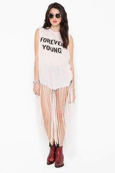 Wildfox Forever Young tank