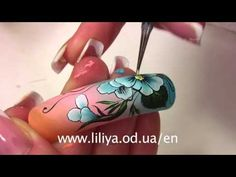 She has cool videos with nice nail art, I like them!