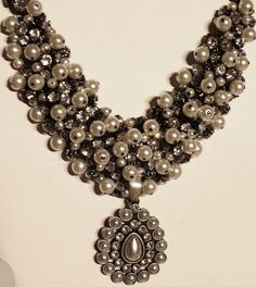 Find me on Facebook for ~PREMIER JEWELRY~ Lori Ann Wilson Remscheid  Enamored necklace with Pearly Drops enhancer