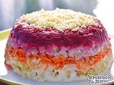 Очень вкусный салат с корейской морковкой.