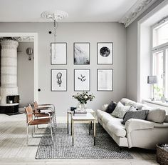 Interiors | Stylish Swedish Apartment - DustJacket Attic