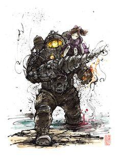 Bioshock 2 Subject Delta Sumi by MyCKs on DeviantArt