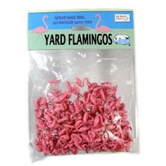 """Yard Flamingos - Trailer Park Wars Additional Pieces. Because """"nobody needs them, but everybody wants them."""""""