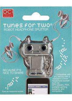 tunes for two - headphone splitter!