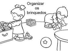 COMBINADOS/ REGRAS PARA SALA DE AULA ILUSTRADOS crianças educaçao para imprimir