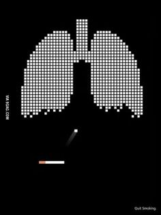 Clever anti-smoking advertising | #ads #health
