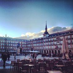 Plaza Mayor, Madrid. Photo courtesy of whatnottomiss on Isntagram.