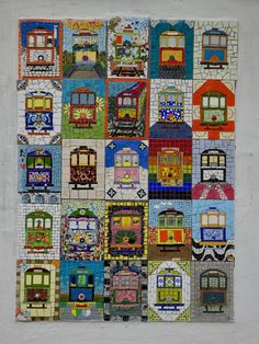 Trams of Santa Teresa in Rio Mosaic Ideas, City Photo, Places To Visit, Santa, Nature, Design, Rio De Janeiro, Naturaleza, Nature Illustration
