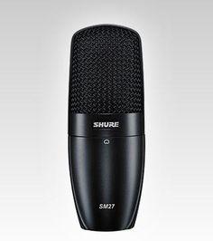 Shure SM27 Multi-Purpose Microphone.
