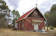 Wandering, W.A. - Saint Martin's Anglican Church. Built in 1929. Services held the fourth Sunday of every month at 3pm.