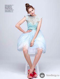 Sharon Kavjian для Glamour UK