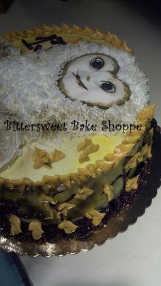 """""""Owl"""" Birthday Cake Bittersweet Bake Shoppe Tyngsboro, Massachusetts"""