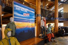 Columbia Sportswear Retail Campaign #environmental #branding #graphics #signage #graphics