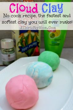 Cloud Clay recipe, o