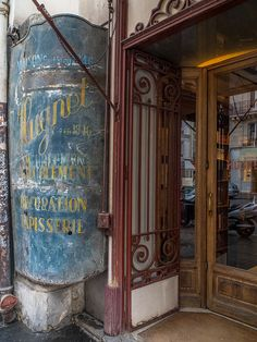 Old sign Rue du faubourg St Antoine Paris by Roubinoff 2013 | Flickr