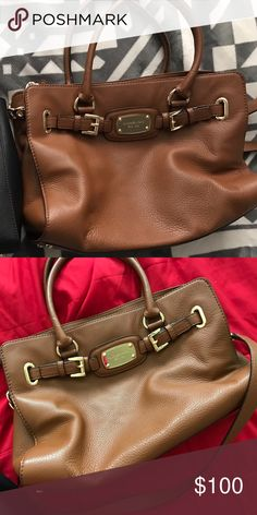 Brown Michael Kors Purse Authentic. Great condition no stains or rips Michael Kors Bags Totes