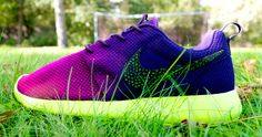 "Nike Roshe Run ""Mercurial"" Custom By CDK Customs 