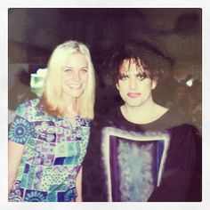 Sheri Moon Zombie with Robert Smith circa '96