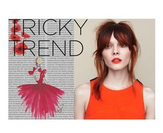 """Tricky Trend: Red Eye Makeup Contest Entry"" by jackknifexjess ❤ liked on Polyvore featuring beauty and Oris"