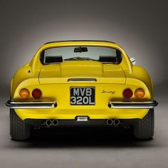 Ferrari Dino #Ferrari #italian #classiccars #dino