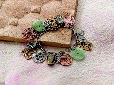 Every maiden's pick. #Bronze, #Copper, #Quartzite, #Pyrite, #Sterling #Silver. #Silpada #Jewelry #Bracelet