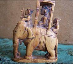 Ivory chess piece India