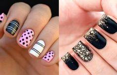 Resultado de imagen para uñas bonitas decoradas con esmalte faciles paso a paso