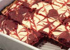 Super Easy Red Velvet Cheesecake Brownies