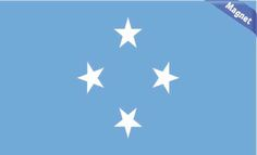 Federated States of Micronesia Flag magnet