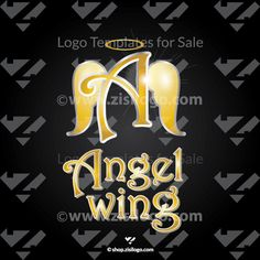 Angel Wing - Abstract Logo Template - Logo Store - Logo Stock. Logo for Beauty, Cosmetics, Aesthetics, Fashion, Jewelry and more. Buy ready logos for $99 >>