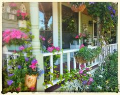 My cottage porch ~ photo byJulie (cruzantiques)