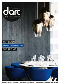 darc is a dedicated international magazine focused on decorative lighting design in architecture. Published five times a year, including 3d – our decorative design directory, darc delivers insights into projects where the physical form of the fixtures actively add to the aesthetic of a space. In darc, as with sister title mondo*arc, our aim remains as it has always been: to focus on the best quality technology, projects and products and to hear from those on the forefront of creative design.