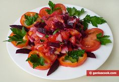 The Recipe for a Salad with Red Beet and Sauerkraut   Dietary Cookery   Genius cook - Healthy Nutrition, Tasty Food, Simple Recipes