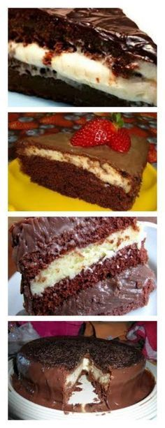 DESCUBRA COMO FAZER O BOLO MAIS VENDIDO DESTE MÊS O BOLO BOMBA VEJA>> SALVE ESTE PIN Para fazer o creme bata tudo no liquidificador e leve ao fogo, mexendo até engrossar. #bolo#torta#doce#sobremesa#aniversario#pudim#mousse#pave#Cheesecake#chocolate#confetaria